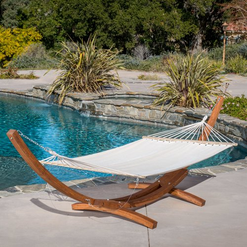 Sol 72 Outdoor Beckson Tree Hammock with Stand