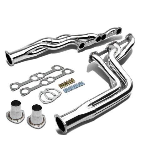 Side Exhaust Manifold - Pontiac Firebird/GTO/LeMans 326-455 V8 Stainless Steel Long Tube 4-1 Header Exhaust Manifold
