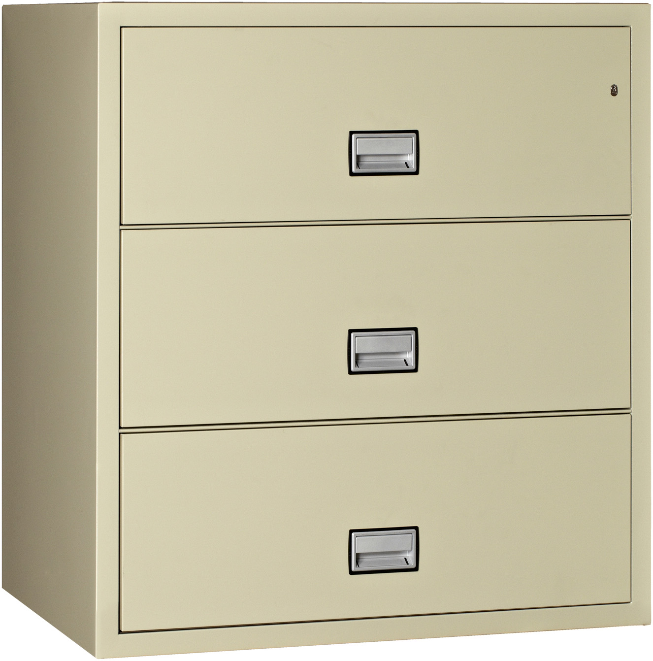 Phoenix Lateral 38 Inch 3 Drawer Fireproof File Cabinet Walmart Com Walmart Com