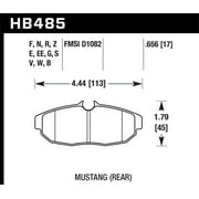 Hawk 05-07 Ford Mustang GT & V6 HP+ Street Rear Brake Pads