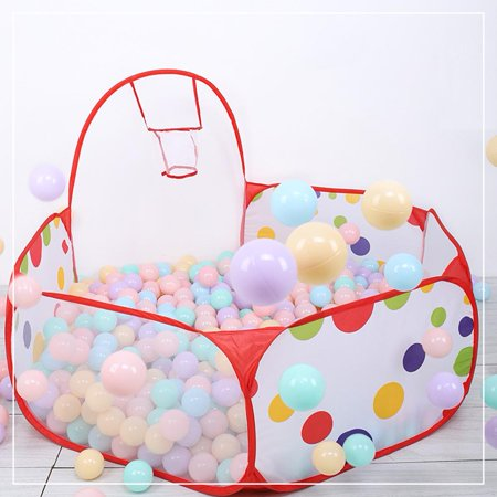Newborn Baby Children Indoor Tent Folding Ocean Ball Pool Shooting Game Pit Kids House Play Toy