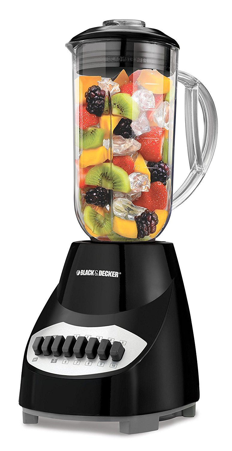 Black & Decker Crush Master 10 Speed Blender Black (BL2010BP) by Black   Decker