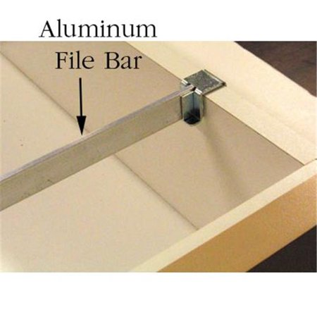 Aluminum File Bar, 0.75 x 32 (0.75 Bar Stock)