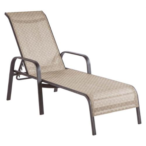 Charter Stackable Sling Chaise Lounge - Set of 2