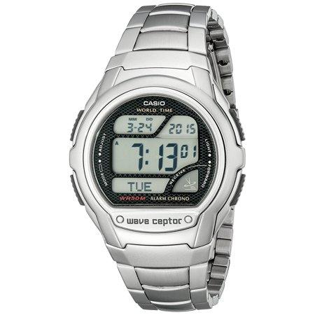 Mens Wv58da 1Av Waveceptor Digital Atomic Sport Watch  Mltiband5 Import Uebuseputa Black Wvam630d1a3jf Gear Ceptor Radio Sport Wv200a4avcf Bracelet Waveceptor    By Casio