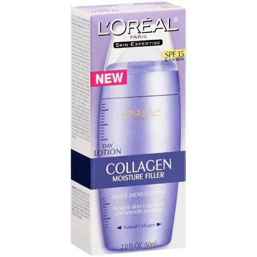 L'Oreal Paris Skin Expertise Collagen Moisture Filler Day Lotion, SPF 15, 2 fl oz