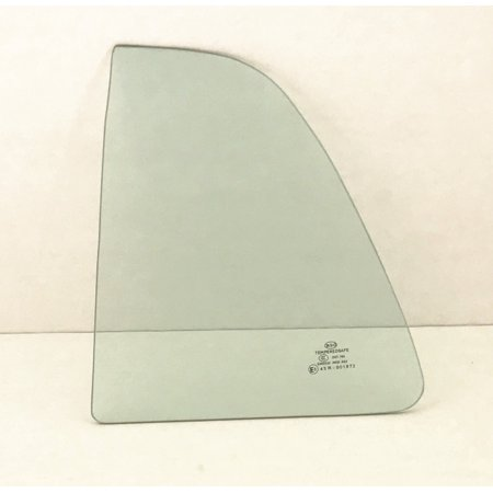 Rear Side Glass - For 2008-2014 Scion XD Hatchback Driver/Left Side Rear Vent Window Replacement Glass