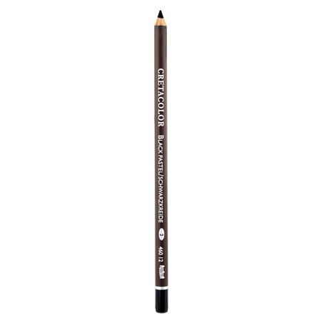 Cretacolor Classic Black Chalk Sketching and Drawing Pencils (Pack of 12)