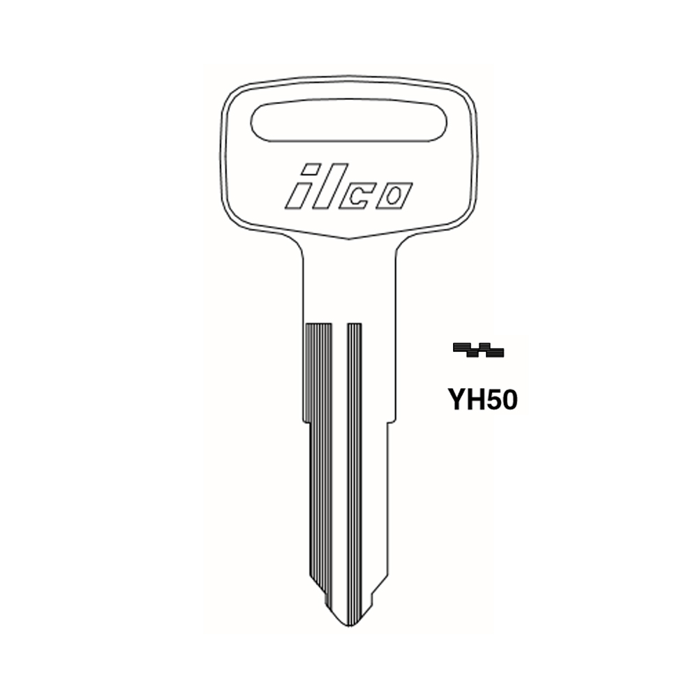 For Moped Scooter FREE SHIPPING Version 4 New Blank Key Set