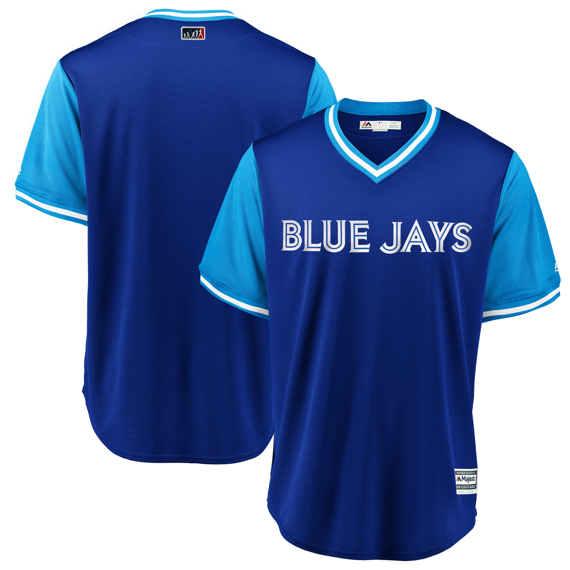 Toronto Blue Jays Majestic 2018 Players' Weekend Team Jersey - Royal/Light Blue