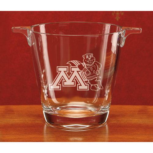 NCAA - Minnesota Golden Gophers Deep Etched Crystal University Ice Tub