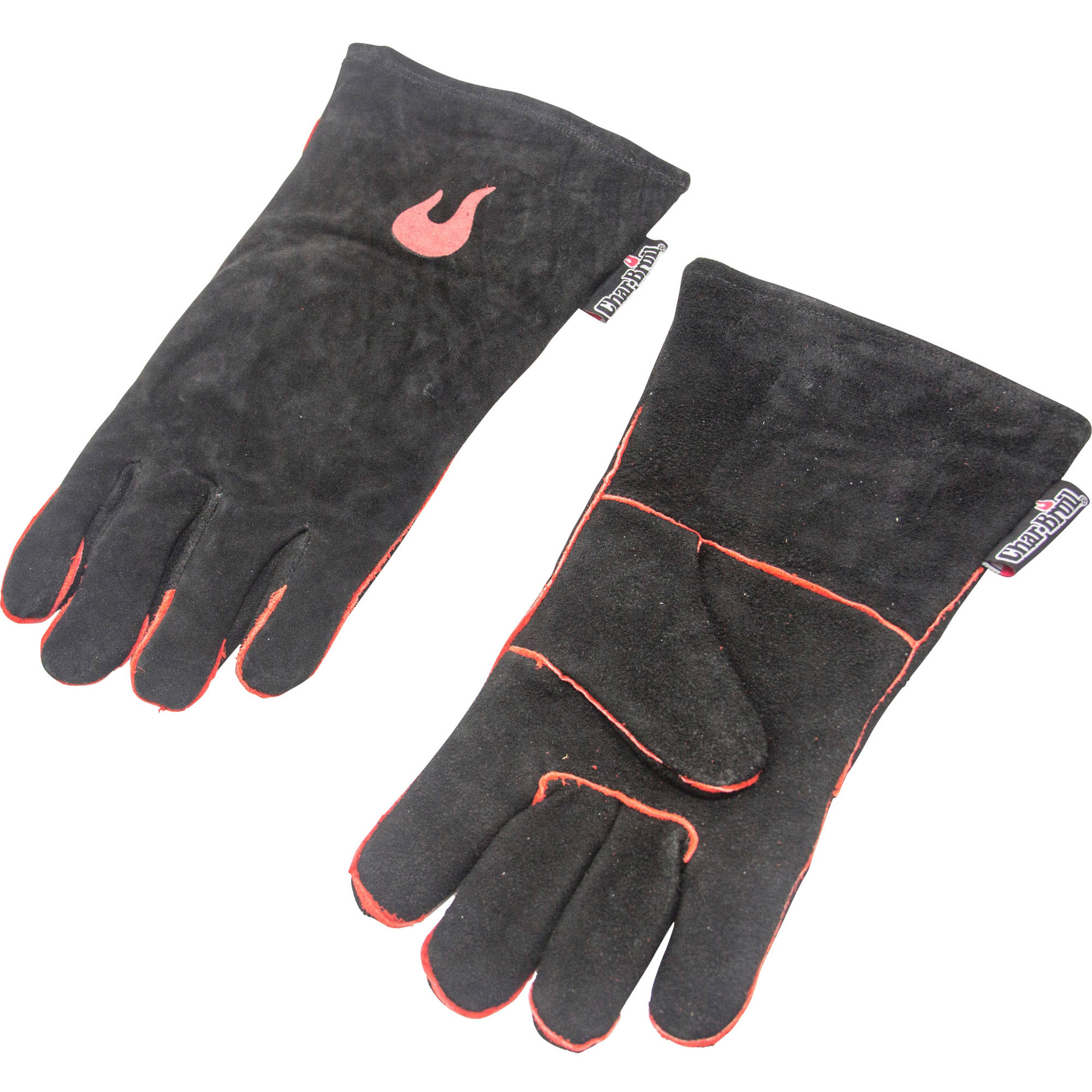 Char Broil Hand-Stitched Leather Grilling Gloves