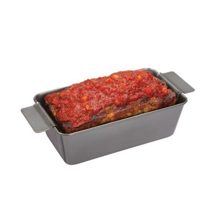 Chicago Metallic Non-Stick Healthy Meatloaf Pan with Insert - image 1 de 4