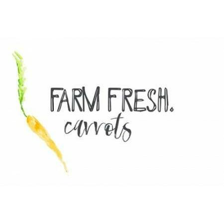 - Farm Fresh Carrots II Poster Print by  Pamela J Wingard