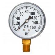 Zenport DPG160 0-160 Psi Dry Air Pressure Gauge