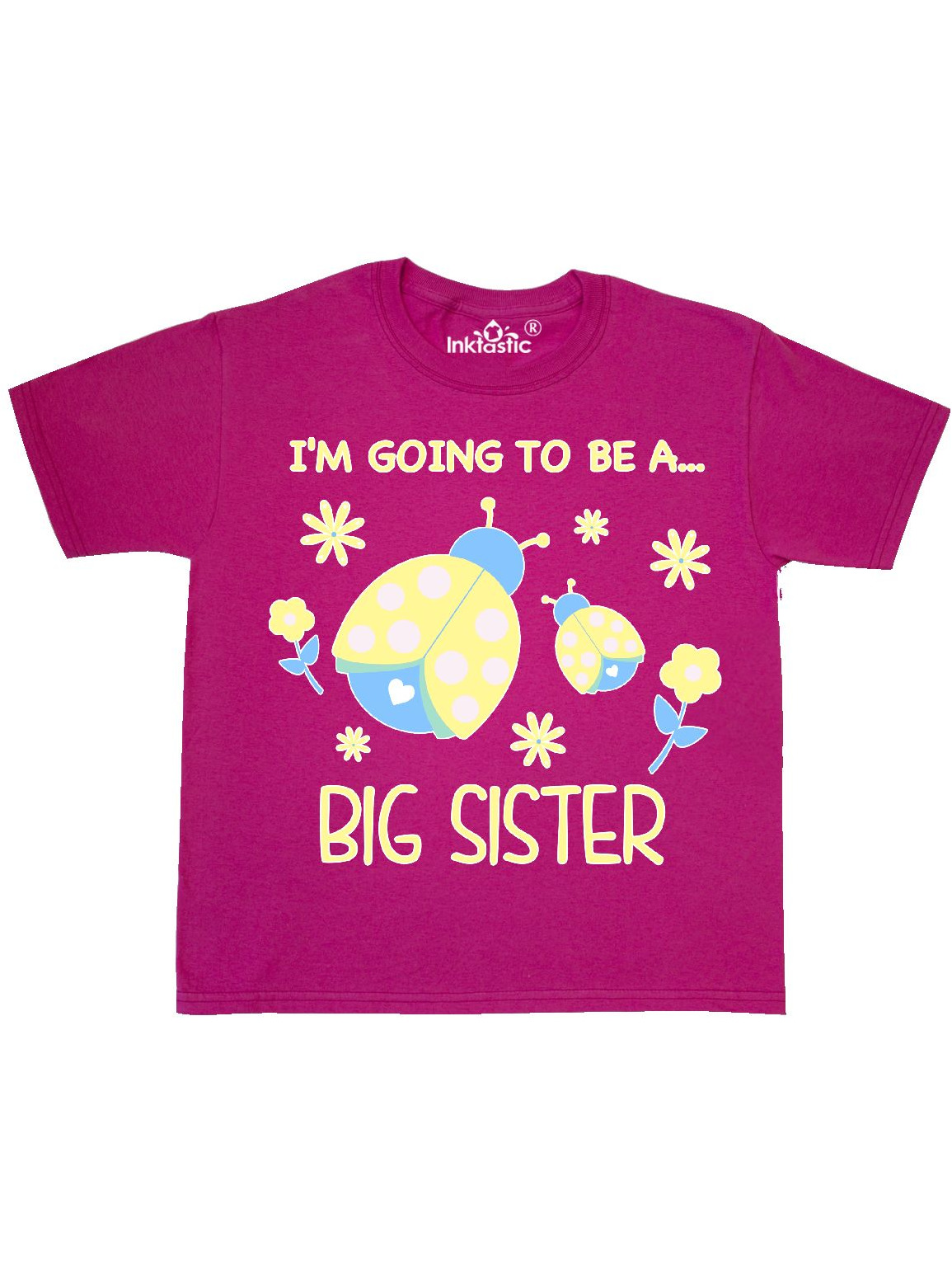 I'm Gonna Be a Sister with Ladybugs Youth T-Shirt