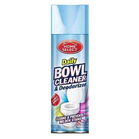 Delta Brands 10033-12 PEC 14 oz Home Select Daily Bowl Cleaner & Deodorizer Aerosol - Case of