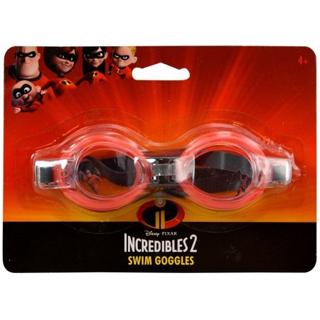Disney Disney Pixar Incredibles 2 Swim Goggles Novelty Character Accessories - Novelty Goggles