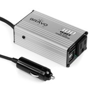 Bravo View INV-300U – 300-Watt Power Inverter with Dual USB Charging