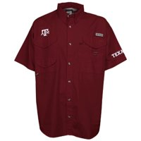 Texas A&M Aggies Columbia PFG Bonehead Short Sleeve Shirt - Maroon