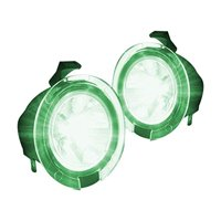 Recon 264242GR Ford 09-14 F150  10-15 Raptor Ultra High Power Led Mirror / Puddle Light Kit - Green