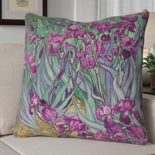 Red Barrel Studio Morley Irises Euro Pillow