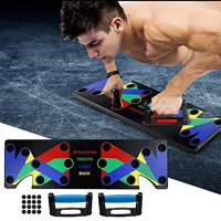 Fitness Push Up Rack Board Gym 9 In 1 Body Exercise Workout Train Push-up Stand