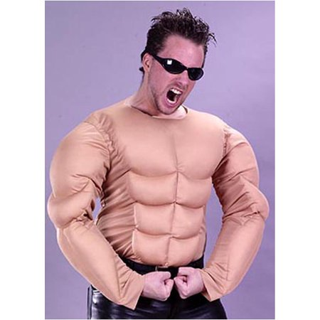 Muscle Man Shirt Adult Halloween Accessory](Male Bride Halloween)