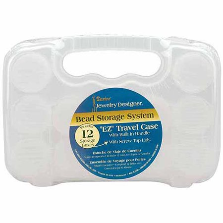 Darice jd bead storage system w 12 containers for Darice jewelry designer bead storage system with 24 containers