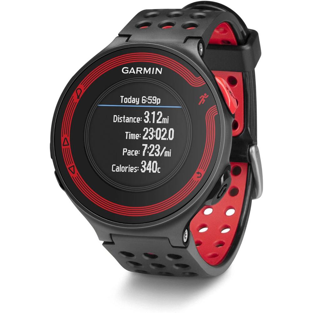 Forerunner 220 Black/Red GPS Fitness Watch and Heart Rate Monitor