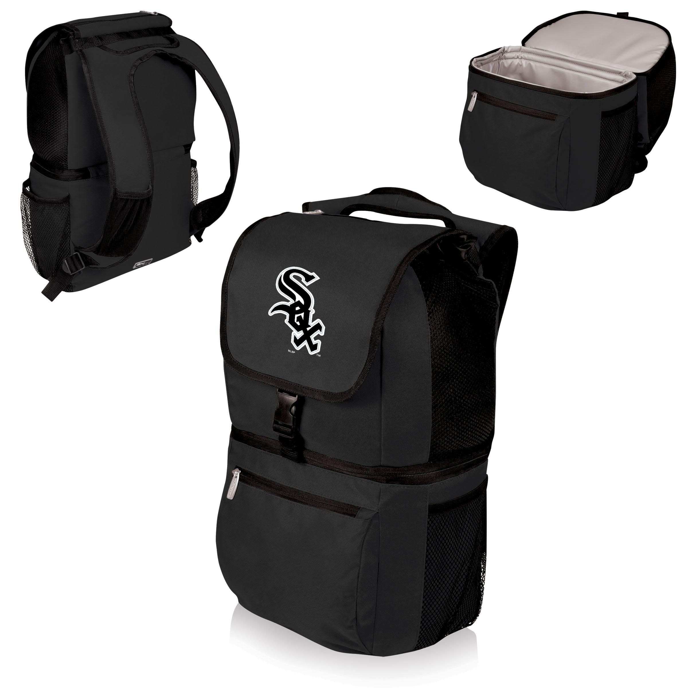 Chicago White Sox Zuma Cooler Backpack - Black - No Size