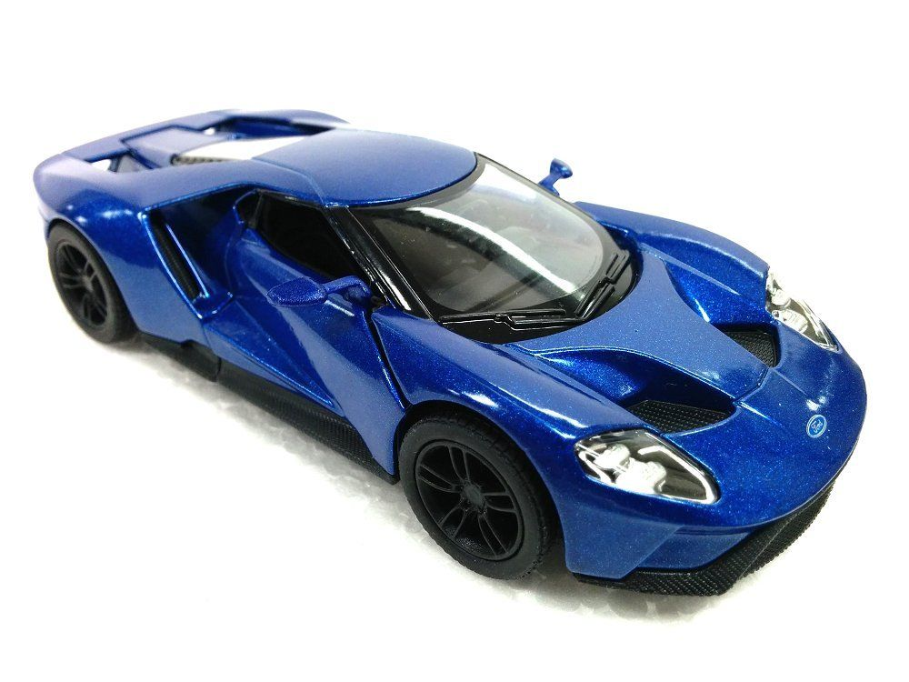 Kinsmart  Ford Gtcast Car Blue Color Ktd No Retail