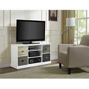 "Ameriwood Home Mercer Storage TV Console with Multicolored Door Fronts for TVs up to 48"", Multiple Colors"