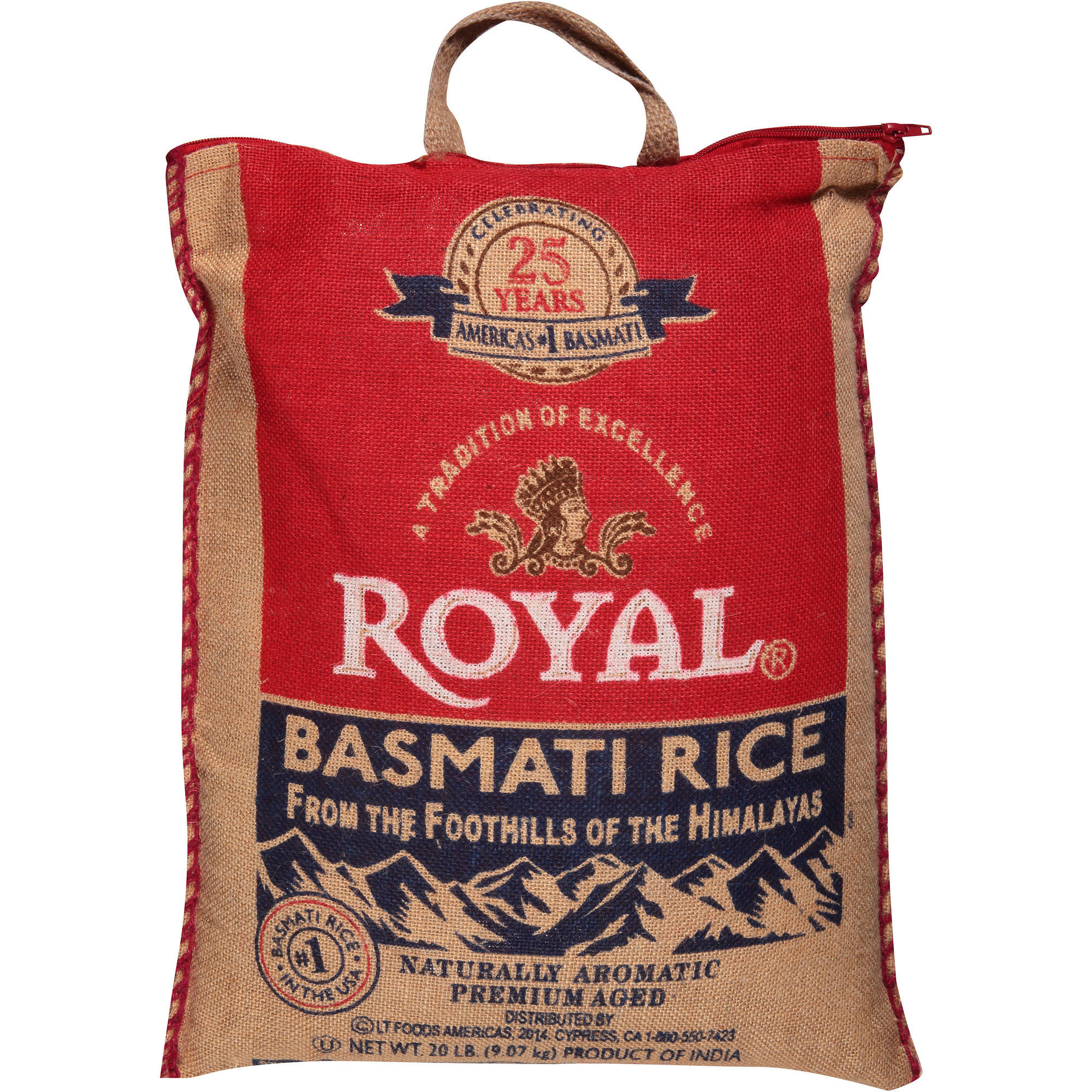 Royal Basmati Rice, 20 lbs