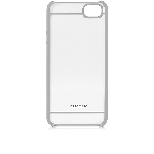 Macally Curve5G iPhone5 Hard Shell see through case - Gray