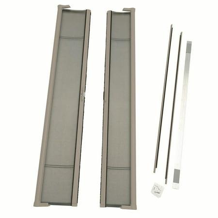 Sandstone Screen (ODL Brisa Tall Double Door Single Pack Retractable Screen for 96