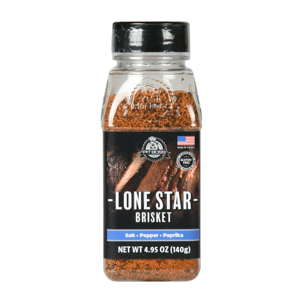 Pit Boss Lonestar Beef and Brisket Seasoning Rub, 5 Oz.