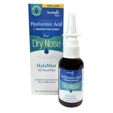 Hyalogic - Hylamist Dry Nose w HA & Grapefr 2 fl oz HT30002 Exp.2.19 ...