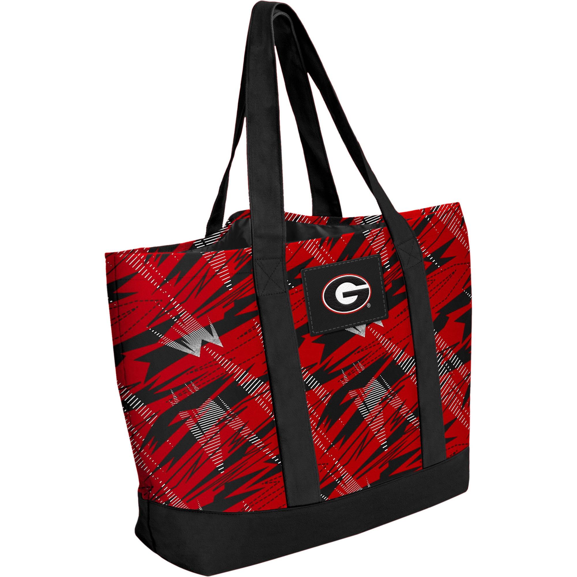 NCAA Shatter Tote Bag, Georgia
