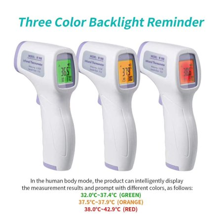 Halloween Costume Contests Online (Digitlal Infrared Non Contact Thermomete Medical Forehead and Ear Themometer for Kids Baby)