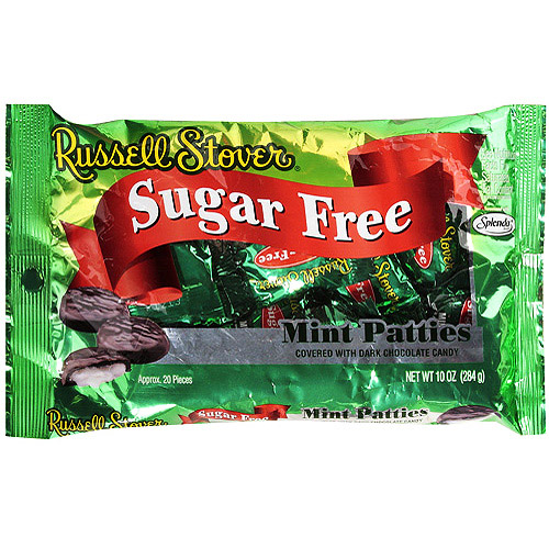 Russell Stover Sugar Free Mint Patty