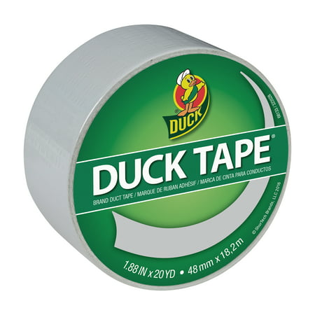 Duck Tape Brand 1.88 In. x 20 Yd. Dove Gray Duct Tape