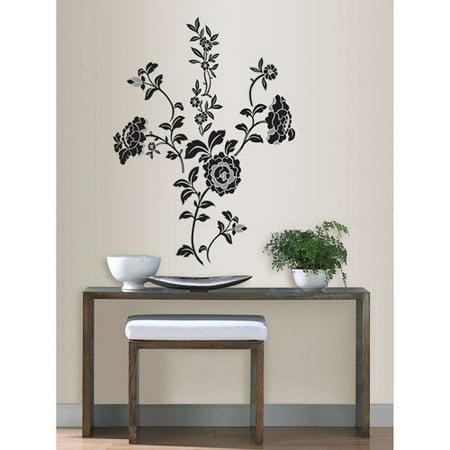 wallpops brocade wall art decals. Black Bedroom Furniture Sets. Home Design Ideas
