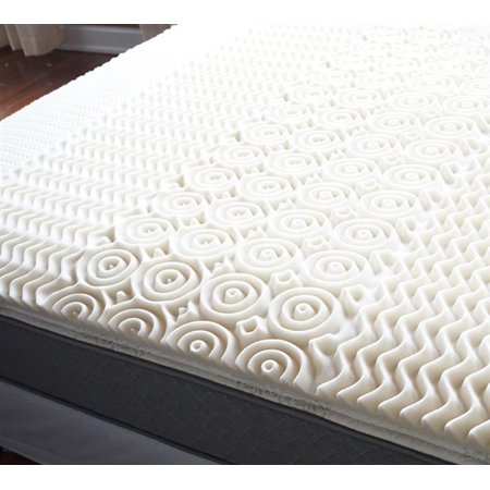 pads foam topper inch toppers basics crate bedding comfort authentic rx beyond bed eggshell mattress zone egg category bath store