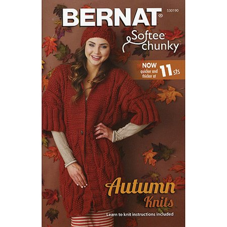 Bernat Softee Chunky Autumn Knits Pattern Booklet
