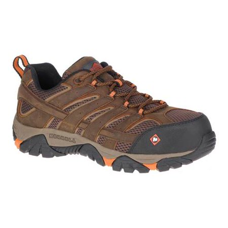Men's Merrell Work Moab Vertex Vent Composite Toe Work Shoe Petzl Vertex Vent