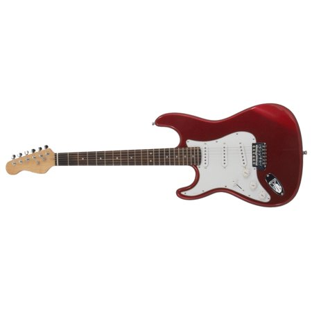 Zenison Left Handed ELECTRIC GUITAR Red Southpaw Leftie/Lefty Triple Pickups 3 (Takamine Left Handed)