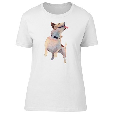 Funny Jack Russel Terrier Dog Tee Women's -Image by Shutterstock