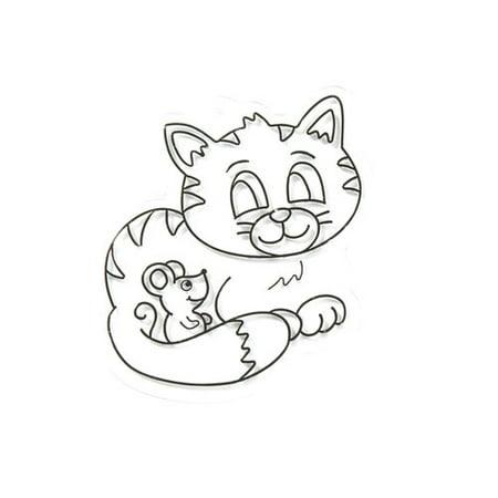 Kids Craft Kitty Sun Catcher, 1 Each - Sun Catcher