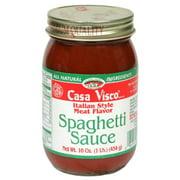 Casa Visco Pasta Sauce, Meat, 16 Oz